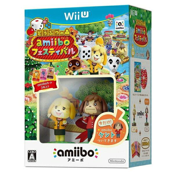 [100円便OK]【新品】【WiiU】【通】どうぶつの森 amiiboフェスティバル 通常版【RCP】