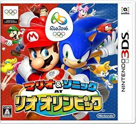 [メール便OK]【新品】【3DS】マリオ&ソニック AT リオ オリンピック【RCP】[在庫品]