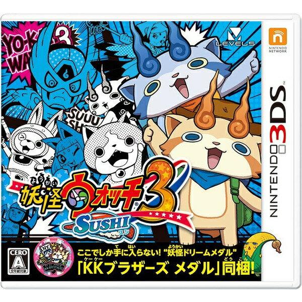 [100円便OK]【新品】【3DS】妖怪ウォッチ3 SUSHI(スシ)【RCP】