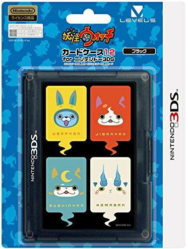 【新品】妖怪ウォッチ カードケース12 for ニンテンドー3DS ブラック【RCP】