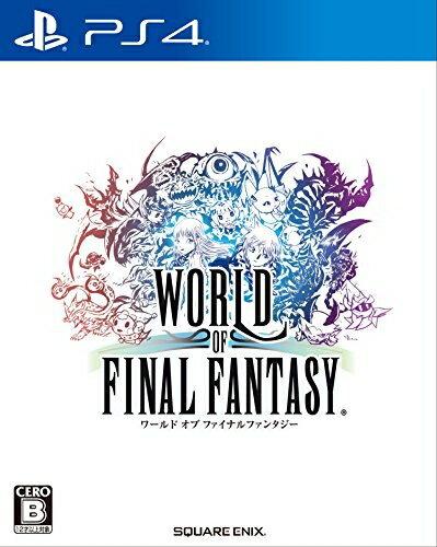 [100円便OK]【新品】【PS4】ワールド オブ ファイナルファンタジー【RCP】