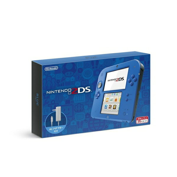 【新品】【2DSH】ニンテンドー2DS ブルー【RCP】[在庫品]
