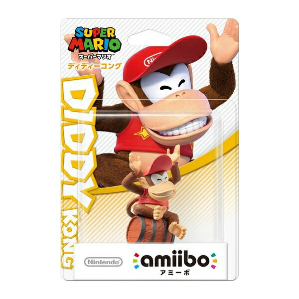 【新品】【WiiUHD】amiibo ディディーコング(スーパーマリオシリーズ)【RCP】