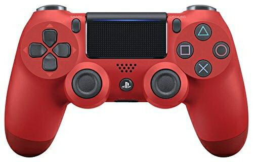 【新品】【PS4HD】ワイヤレスコントローラー(DUALSHOCK4) マグマ・レッド New【RCP】[在庫品]