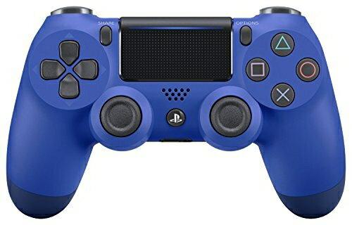 【新品】【PS4HD】ワイヤレスコントローラー(DUALSHOCK4) ウェイブ・ブルー New【RCP】[在庫品]