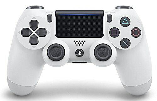 【新品】【PS4HD】ワイヤレスコントローラー(DUALSHOCK4)グレイシャー・ホワイト【RCP】[在庫品]