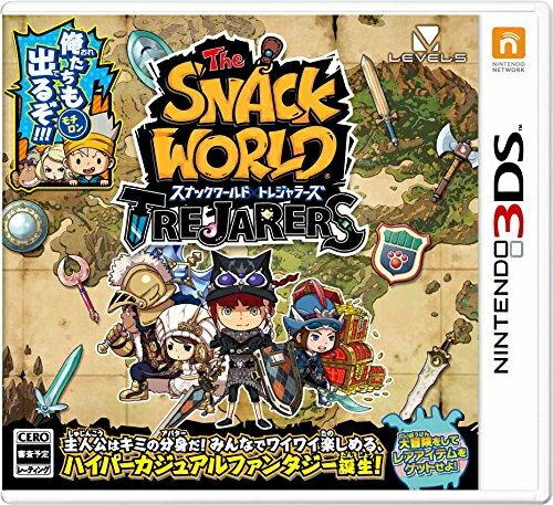 [100円便OK]【新品】【3DS】スナックワールド トレジャラーズ【RCP】