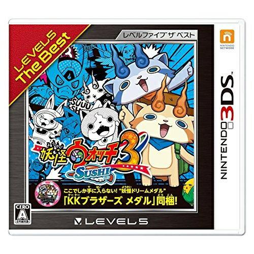 [100円便OK]【新品】【3DS】【BEST】妖怪ウォッチ3 スシ レベルファイブザベスト【RCP】