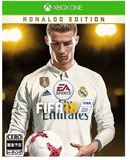 【新品】【XboxOne】【限】FIFA 18 RONALDO EDITION【RCP】[お取寄せ品]