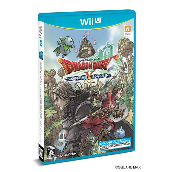 [100円便OK]【新品】【WiiU】ドラゴンクエストX 5000年の旅路 遥かなる故郷へオンライン【RCP】