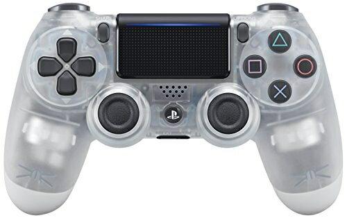 【新品】【PS4HD】ワイヤレスコントローラー(DUALSHOCK4)クリスタル【RCP】[在庫品]