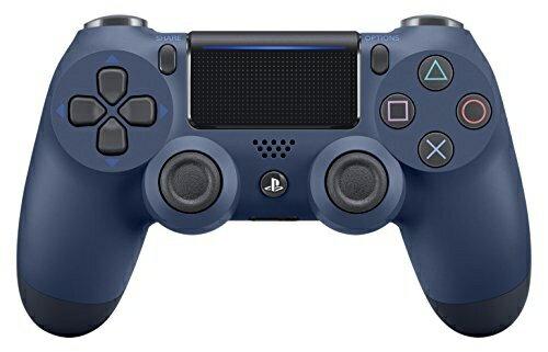 【新品】【PS4HD】ワイヤレスコントローラー(DUALSHOCK4)ミッドナイト・ブルー【RCP】[在庫品]