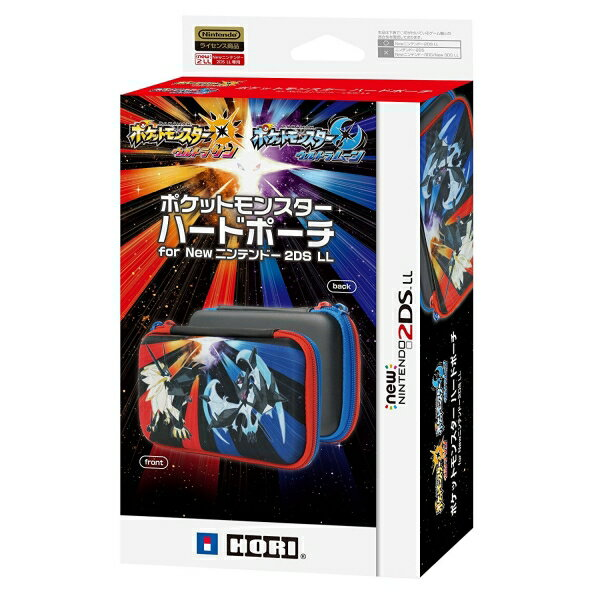 【新品】【3DSH】ポケモンハードポーチ for Newニンテンドー2DS LL ウルトラサンムーン【RCP】[在庫品]