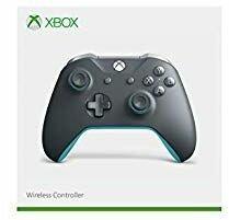 【新品】【XboxOneHD】Xbox One ワイヤレス コントローラー (グレー /ブルー)【RCP】[お取寄せ品]
