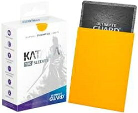 【新品】【TTAC】Ultimate Guard Katana スリーブ 標準サイズ イエロー【RCP】[お取寄せ品]