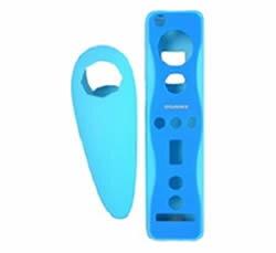 【新品】【WiiHD】UG ラッピングカバー ヌンチャクセット ブルー【RCP】