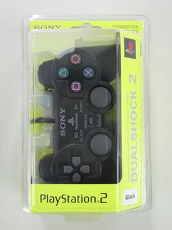 【新品】【PS2HD】【アジア版】アナログコントローラー 黒(DUALSHOCK2)【RCP】