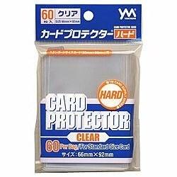 [100円便OK]【新品】【TTAC】やのまん カードプロテクターハード・クリア (60枚入)【RCP】[お取寄せ品]