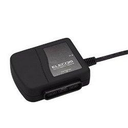 【新品】[ELECOM(エレコム)] 【PS2HD】[ELECOM(エレコム)] 【1ポート】【ブラック】USBtoPS/PS2ゲームパッドコンバータ JC-PS101UBK JC-PS101UBK【RCP】[お取寄せ品]