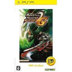 [100円便OK]【中古】【PSP】【BEST】モンスターハンターポータブル 2nd G(価格改訂版)【RCP】