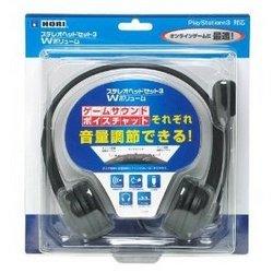 【新品】【PS3HD】ステレオヘッドセット3 Wボリューム【RCP】