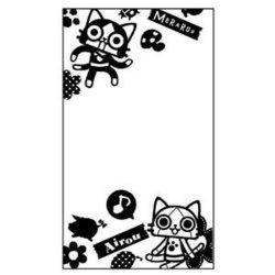 [100円便OK]【新品】【MH4】AIROU Flower Series 画面保護シート(ホワイト)【RCP】