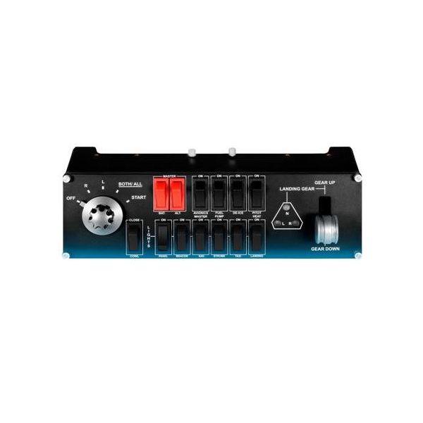 ☆【即納可能】【新品】【PC】Logicool Flight Switch Panel(ロジクール プロ スイッチ コックピット シミュレーション コントローラー)G-PF-SWTP【あす楽対応】【送料無料】【smtb-u】【RCP】