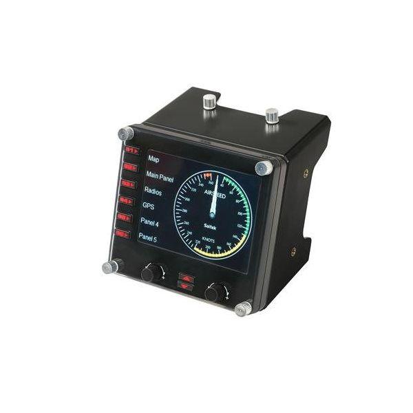 【即納可能】【新品】【PC】Logicool Flight Instrument Panel(ロジクール プロ マルチ計器液晶パネル シミュレーション コントローラー)G-PF-INSP【あす楽対応】【送料無料】【smtb-u】【RCP】