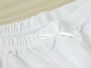 定価1800円から割引夏用肌着さららビューティーステテコパンツ下穿き東レ素材女性用レディース肌襦袢和装肌着浴衣着物半袖レース洗える洗濯可