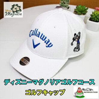 迪士尼 x Callaway 帽米老鼠白色帽子白色禮物禮品迪士尼玉蘭高爾夫球原裝高爾夫帽限量版