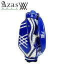 アザスゴルフ アニュー 6003 ANEW MidStaffBag [blue] キャディバッグ スタッフバッグ (3.8kg / 9.5型) ゴールドスタッズ ブルー blue …