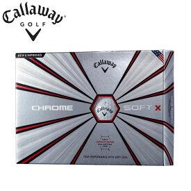 キャロウェイ クロムソフト X トゥルービス ゴルフボール 3ダースセット (36個入) 全4色 公認球 Callaway CHROME SOFT X TRUVIS Golf Ball 3DZN 18c
