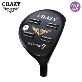 クレイジー ゴルフ CRZ フルチタン フェアウェイウッド ヘッドパーツ ヘッドのみ CRAZY Full Titan Fairway Wood HEAD ONLY 16ss