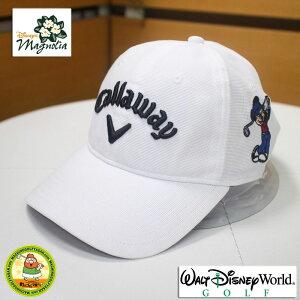 ウォルトディズニーワールド キャロウェイ ゴルフキャップ ミッキーマウス ホワイト 大きいサイズ LからXLサイズ 白【18ss】