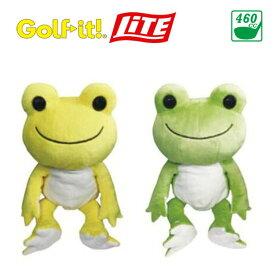 ライト ゴルフイット にじいろピクルス DR H-247 ドライバー用ヘッドカバー 460cc対応 キャラクター 黄、緑 LITE Golf it ! Head cover for Driver 20sp