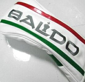バルド ゴルフ ヘッドカバー ドライバー用 ホワイト ストロングラック 白 イタリアンカラー BALDO STRONG LUCK HEADCOVER for Driver 19ss