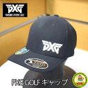 国内未発売!米ツアー御用達ブランド!【Parsons Xtreme Golf】PXG ゴルフ キャップ ブラック フリーサイズ 【18s…