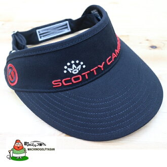 In stock now! Scotty Cameron visor SCOTTY CAMERON Cameron Museum black visor Cap VISOR for GOLF rare
