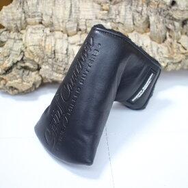 スコッティキャメロン カリフォルニア ギャラリー 限定デザイン レザー パターカバー 本革 マレット型 ブラック 黒【18aw】