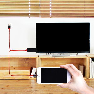 【5月19日発送】iPhone HDMI 変換ケーブル Lightning 変換 アダプタ USB Type-C iPad Pro Galaxy Note8 MacBook アイフォン テレビ つなぐ コード TV モニター