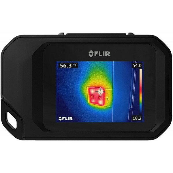 送料無料 FLIR フリアー C3 ポケットサイズ サーモグラフィ .. C2 後継 赤外線サーモグラフィー 赤外線カメラ