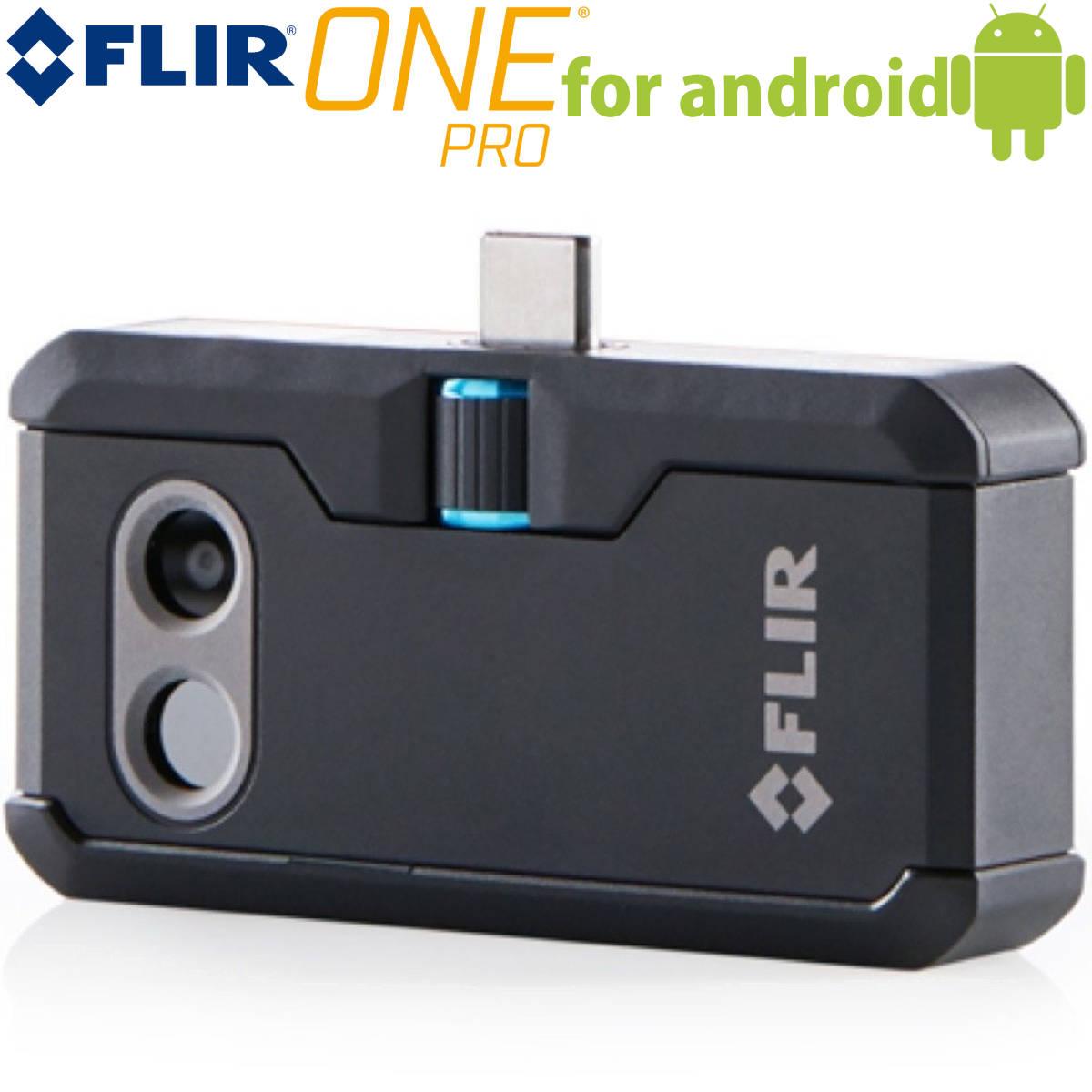 送料無料 FLIR ONE PRO for Android サーモグラフィ .. スマートフォン対応 赤外線サーモグラフィー フリアー 赤外線カメラ gen3 USB-C Type-C Micro USB マイクロUSB