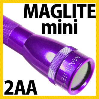 MAGLITE 맥 라이트 미니 맥 라이트 2CELL MAG-LITE 2AA 2 셀 AA [단 3 전지 단 3 전지 하드 케이스 기프트 박스 들]