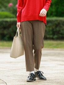 [Rakuten Fashion]ポリエステルツイルパンツ MACKINTOSH PHILOSOPHY WOMEN マッキントッシュ フィロソフィー パンツ/ジーンズ スラックス/ドレスパンツ ブラウン【送料無料】
