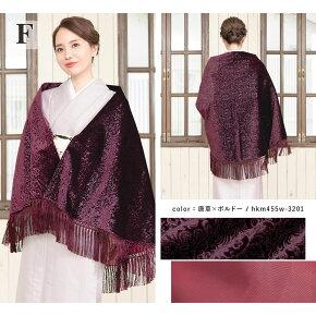 着物コートケープ女性レディースアゲハラベルベット防寒コート和装コート日本製あす楽対応商品送料無料