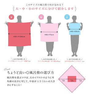風呂敷大判おしゃれシビラ綿二巾日本製エコバッグ綿75cmふろしきメール便送料無料