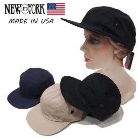 【送料250円ゆうパケット対応】【NewYork Hat】ニューヨークハット/Rip Stop Camp/リップストップキャンプ/【6060】/ジェットキャップ/5パネル/アウトドア