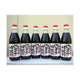 四万十味紀行 焼鮎醤油 360ml 6本セット