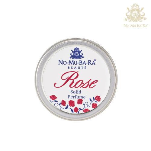 NO-MU-BA-RA(ノムバラ)ボーテ ローズソリッドパフューム( 練香水 リップクリーム )【送料無料】 【あす楽】 ホワイトデー 母の日 ローズウォーター ダマスクローズ nomubara 基礎化粧品 自然派化粧品