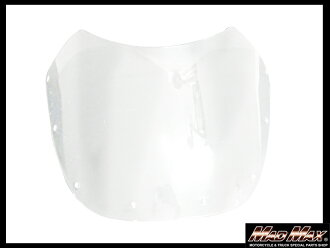 And your package! 180 mm diameter for bikini cowl screen (clear)